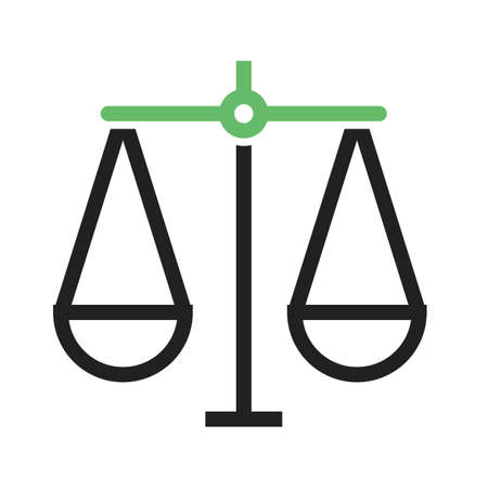 Justice, scale, law icon vector image.Can also be used for law and order. Suitable for mobile apps, web apps and print media.