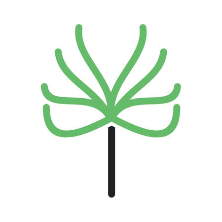 Tree, leaves, branch icon vector image.Can also be used for gardening. Suitable for mobile apps, web apps and print media. 일러스트