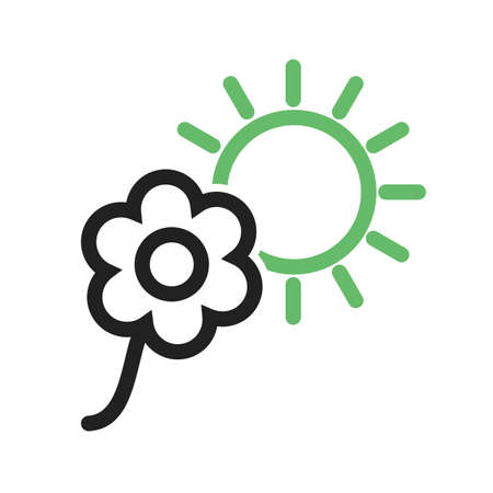 Flower, flowers, plant icon vector image.Can also be used for gardening. Suitable for mobile apps, web apps and print media.