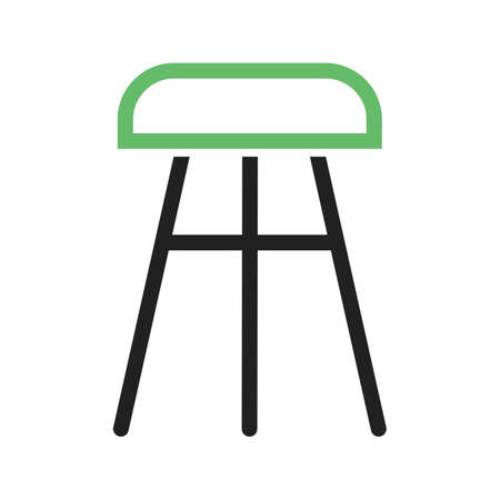 Stool, chair, wooden icon vector image.Can also be used for furniture design. Suitable for mobile apps, web apps and print media. Illustration