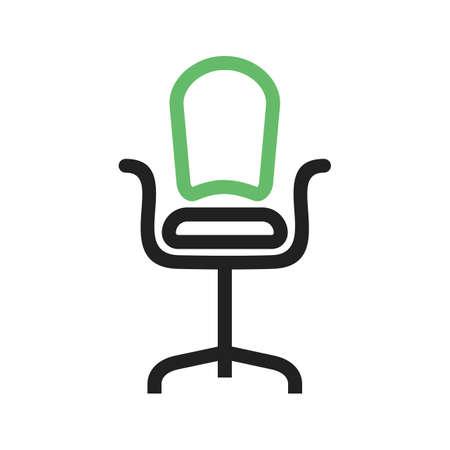 Office Chair icon Vector illustration. Ilustrace