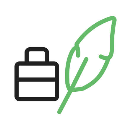 Pena, pena, imagem do vetor do ícone da pena. Pode igualmente ser usado para a arte e o projeto. Adequado para aplicativos móveis, aplicativos da web e mídia impressa. Foto de archivo - 94118495