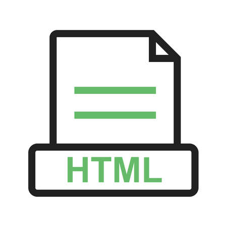 HTML, file, extension
