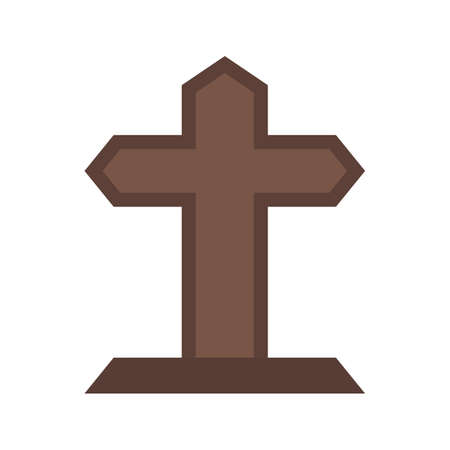 Grave  icon Vector illustration. Иллюстрация