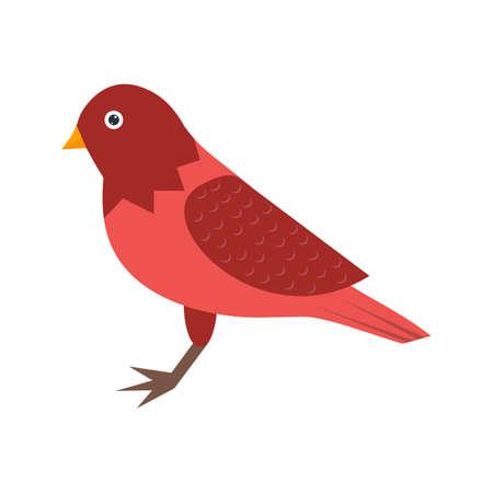 Bird , sound icon Vector illustration. Иллюстрация