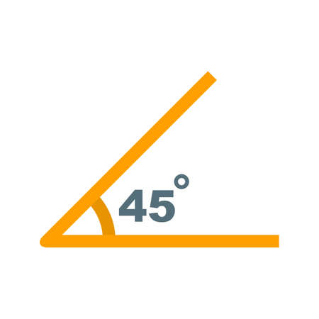 Acute angle illustration