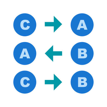 Logical pattern using letters