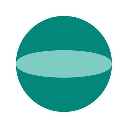 Circular geometric shape Illustration