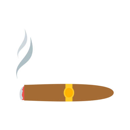Smoking, addiction, tobacco icon vector image. Can also be used for Men s Accessories. Suitable for web apps, mobile apps and print media.