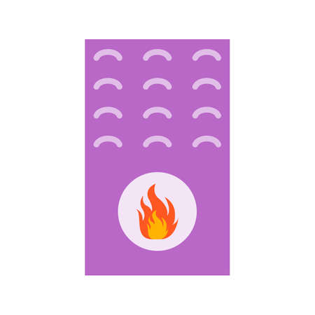 Boiler, gas, furnace icon vector image. Can also be used for Climatic Equipment. Suitable for mobile apps, web apps and print media. 矢量图像