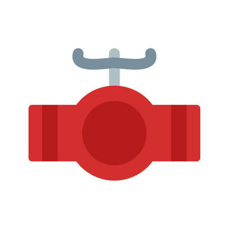 Valve, industrial, pipe icon vector image. Can also be used for Climatic Equipment. Suitable for mobile apps, web apps and print media. Illustration