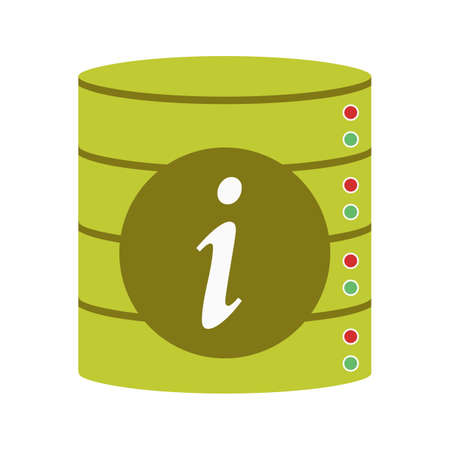 Data, business, information icon vector image. Can also be used for Data Analytics. Suitable for mobile apps, web apps and print media.