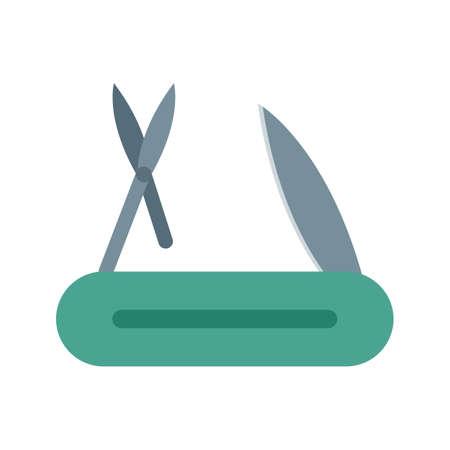 Couteau, travail, image vectorielle d'acier icône. Peut également être utilisé pour les outils à main. Convient pour une utilisation sur les applications Web, les applications mobiles et les médias imprimés. Banque d'images - 94582034