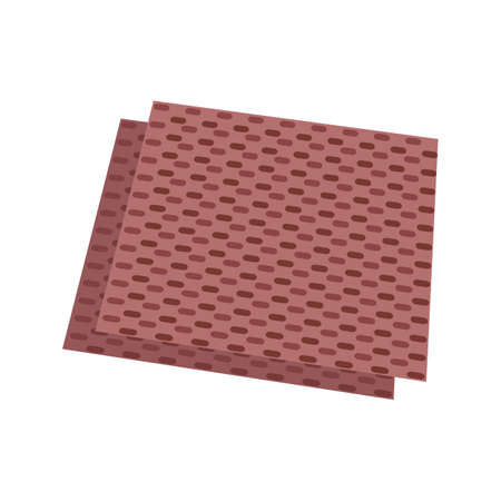 Sandpaper, refinishing, surface icon vector image. Can also be used for Hand Tools. Suitable for use on web apps, mobile apps and print media. Иллюстрация