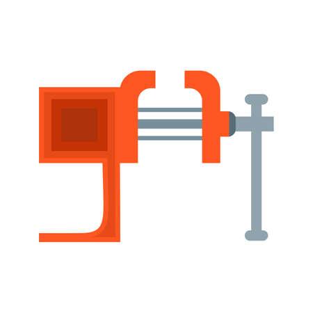 Vice, ferramenta, imagem vetorial de ícone de pressão. Também pode ser usado para ferramentas manuais. Adequado para uso em aplicativos da web, aplicativos móveis e mídia impressa.