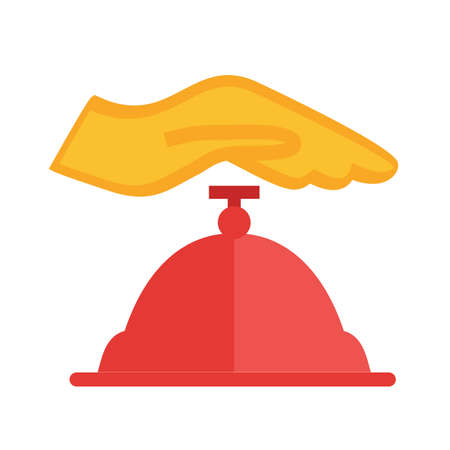 Counter bell, hotel, service icon  image. Can also be used for business, finance, technology, economics and accounting. Suitable for web apps, mobile apps and print media.