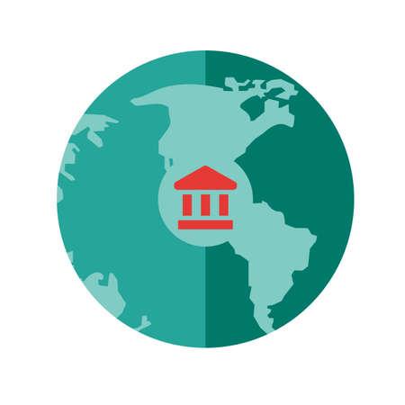 Global Banks Icon