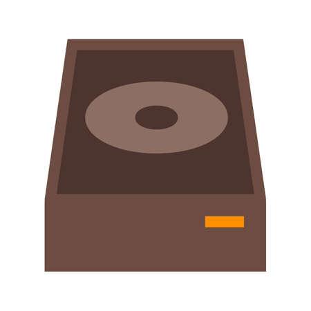DVD ROM Icon illustration Illustration