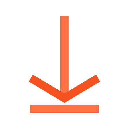 Arrow, save, store icon  image. Can also be used for computer hardware, computer network and connection. Suitable for use on web apps, mobile apps and print media.