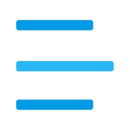 Links uitlijnen pictogram