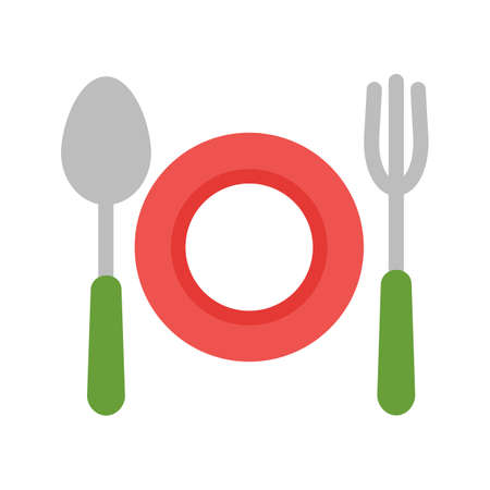 Food, dinner, diet icon vector image. Can also be used for summer, recreation and fun. Suitable for use on mobile apps, web apps and print media.