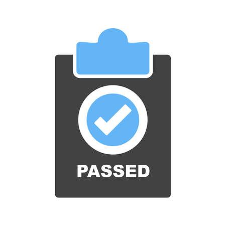 QC Passed sticker icon