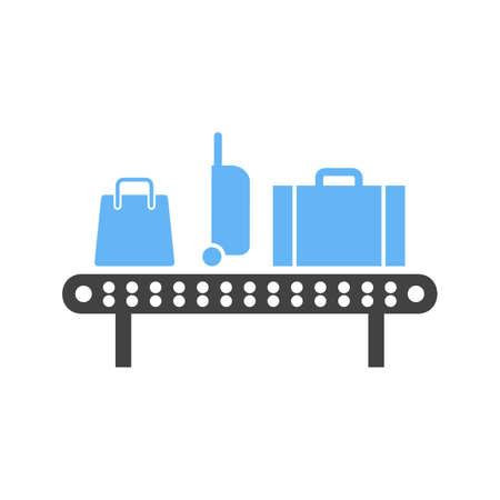 Luggage carousel icon