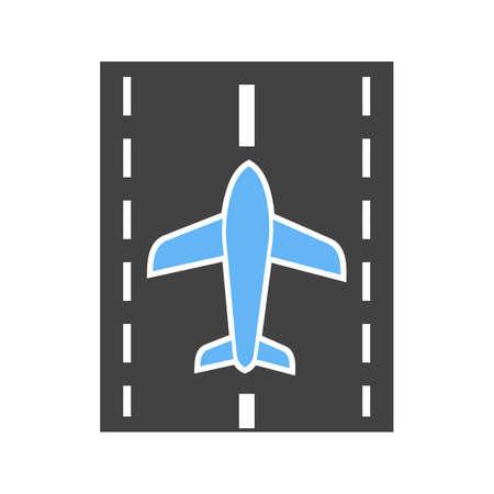 Runway icon Иллюстрация