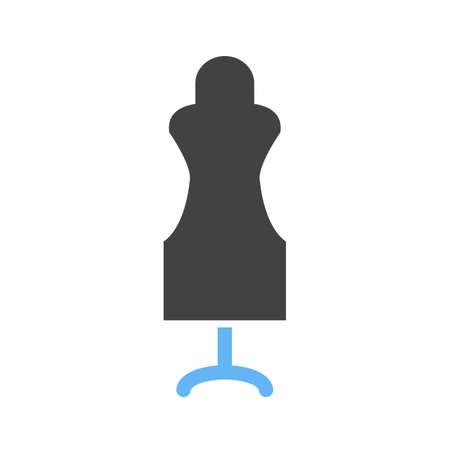 Dummy, mannequin icon