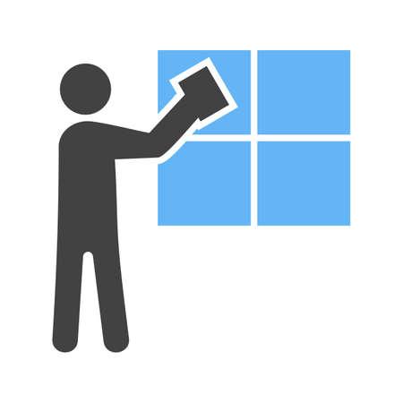 213 professional window cleaning stock illustrations cliparts and rh 123rf com rom vectorman 2 vectorman rom sega genesis