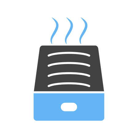 Humidifer, water icon illustration design