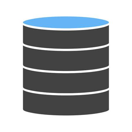Data Center icon Vector illustration isolated on white background.