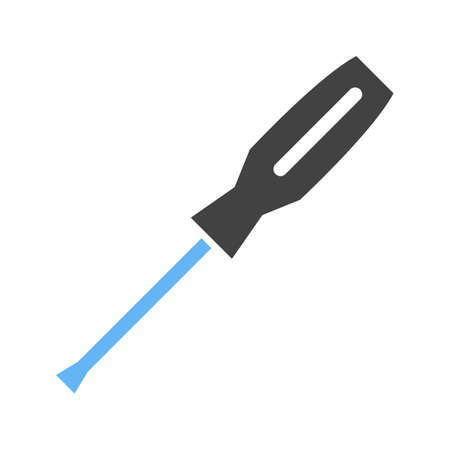 Screw, driver, tools icon vector image. Can also be used for Hand Tools. Suitable for use on web apps, mobile apps and print media. 일러스트