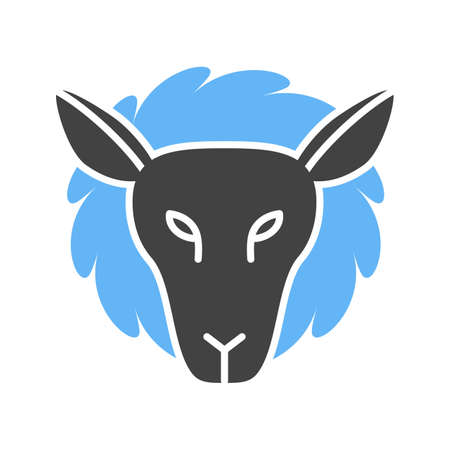 Sheep, face, lamb icon vector image. Can also be used for Animal Faces. Suitable for mobile apps, web apps and print media.