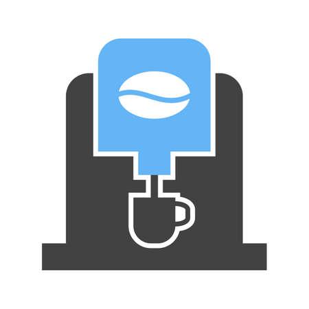 Coffee Machine icon Vectores