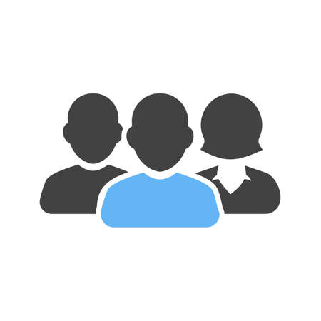 Team, people, users icon vector image. Can also be used for banking, finance, business. Suitable for use on web apps, mobile apps and print media. Illustration
