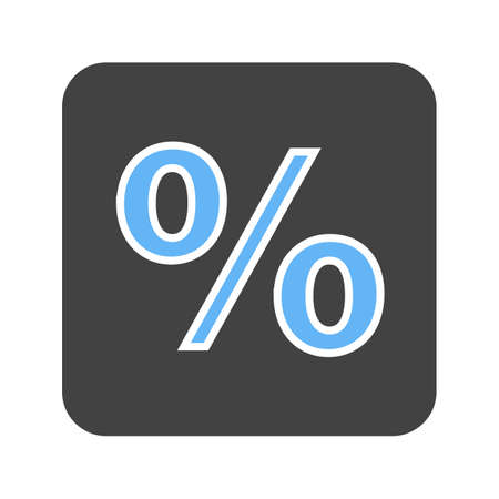 Percentage, portion, fraction icon vector image. Can also be used for banking, finance, business. Suitable for web apps, mobile apps and print media.