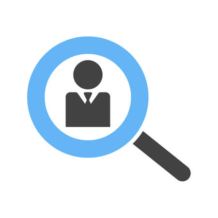 Search, explore, find icon  image. Can also be used for admin dashboard. Suitable for mobile apps, web apps and print media.