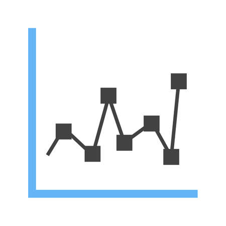 Charts and graphs icon 일러스트