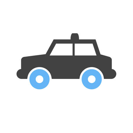 Police, car, patroling icon  image. Can also be used for transport, transportation and travel. Suitable for mobile apps, web apps and print media.