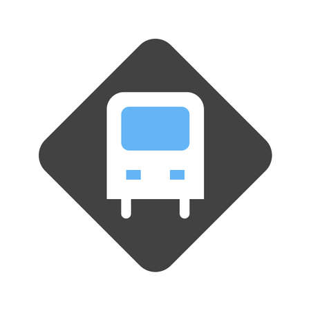 Bus billboard icon image. Can also be used for transport, transportation and travel. Suitable for mobile apps, web apps and print media.