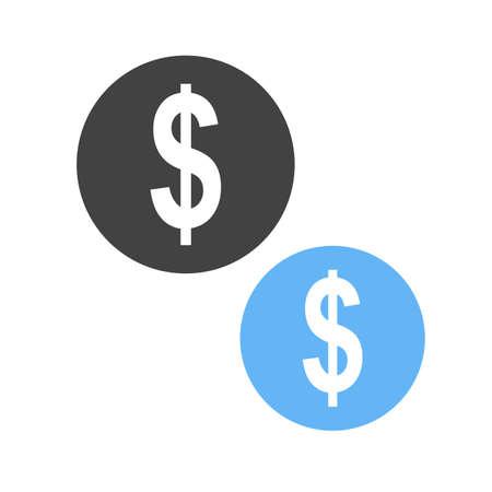United States Dollar currency. Иллюстрация