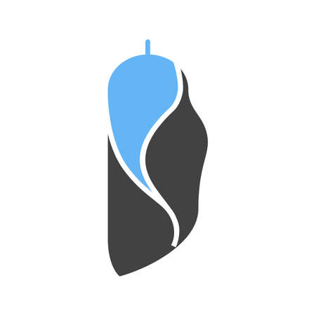 Cocoon vector  illustration