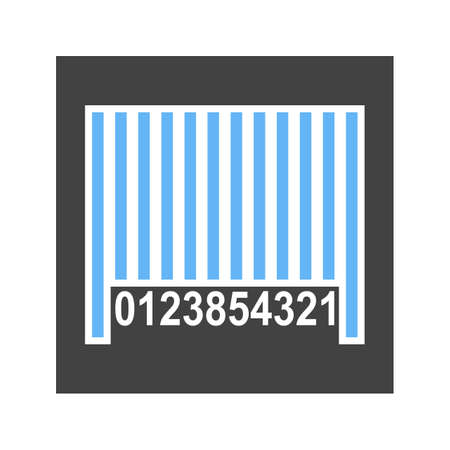 Barcode scanner label icon