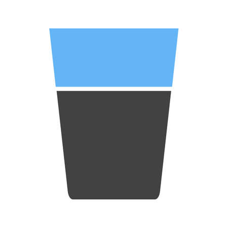 Water Glasses Icon Фото со стока - 96826340
