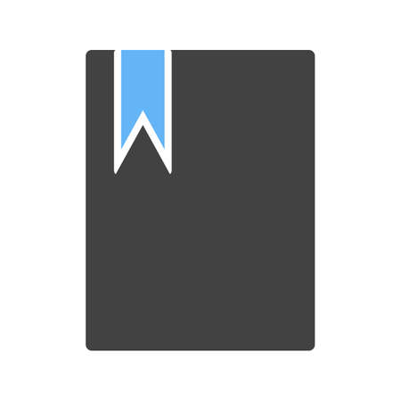Bookmarked Document Icon