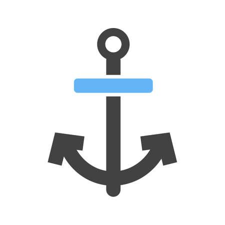 Anchor icon illustration.