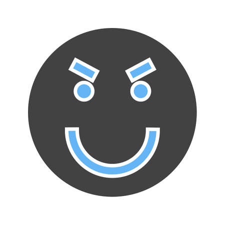 Surprised, sad, upset icon vector image. Can also be used for emotions and smileys. Suitable for mobile apps, web apps and print media.