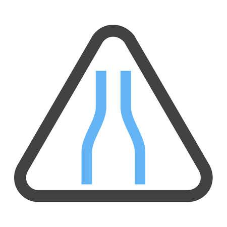 標識、道路、交通アイコンベクトル画像。交通標識にも使用できます。Web アプリ、モバイルアプリ、印刷メディアに適しています。 写真素材 - 96697100
