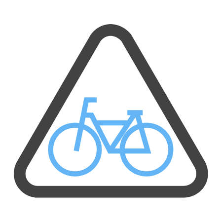 Cycle Stand sign icon.